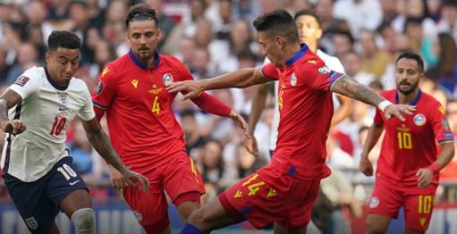 FIFAWorldCup 2022 : England thrashed Andorra 4-0