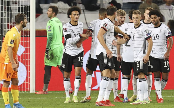 Germany thrashed Armenia 6-0 to in theWorldCup qualifying